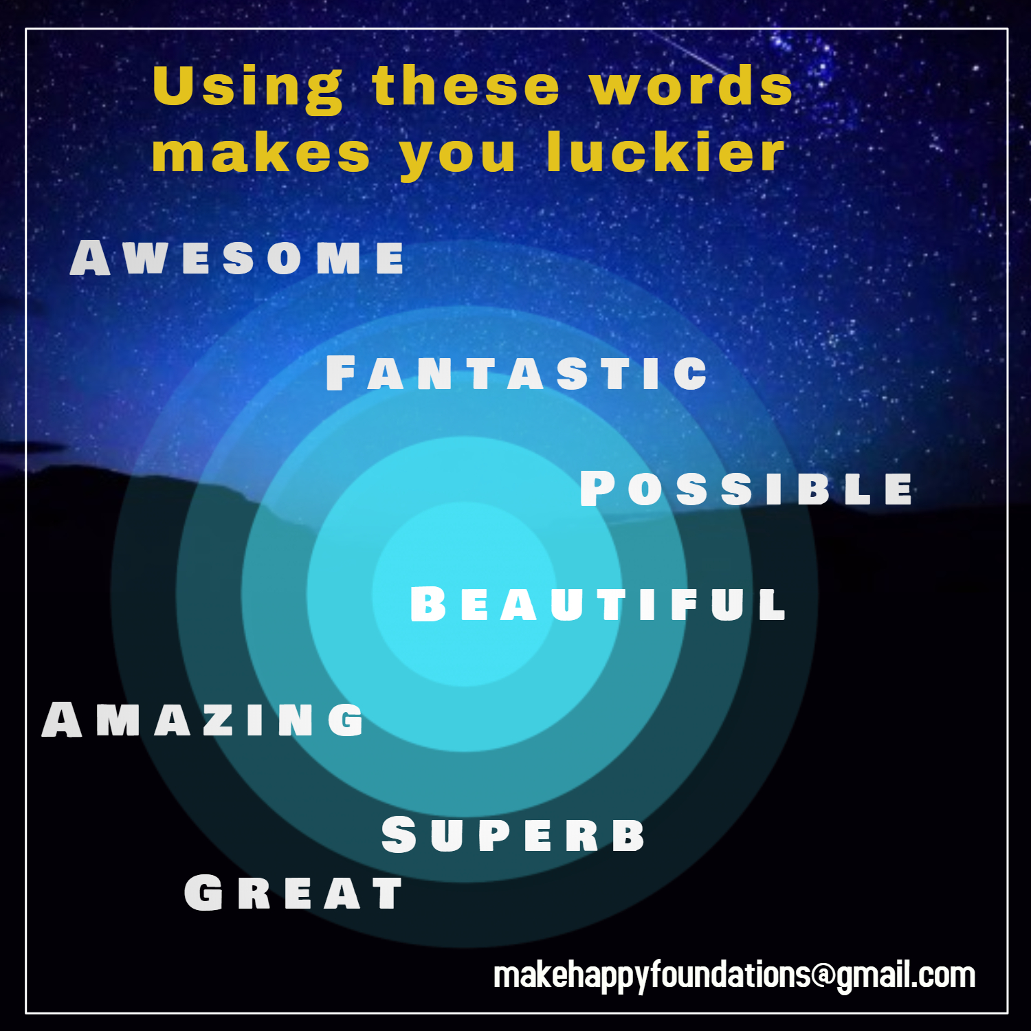 Did you know using certain words makes you Luckier