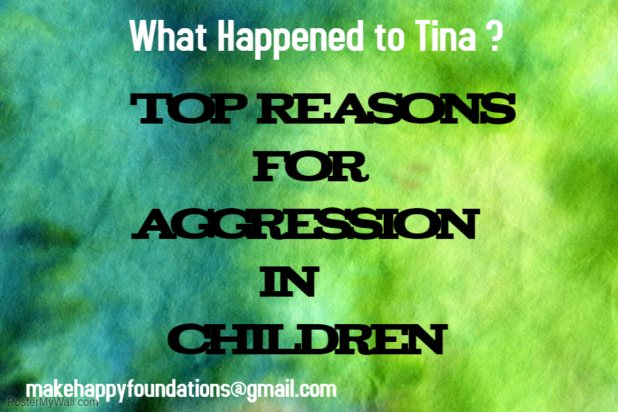 Reasons for aggression in children explained.