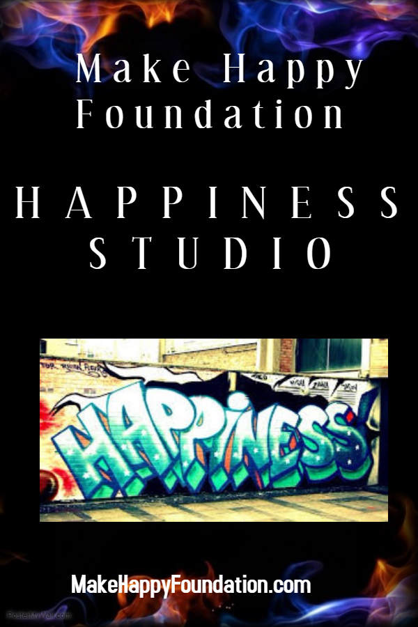 Make happy Foundation exciting weeks! 1st Happiness Studio and Workshops!