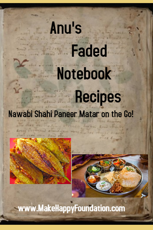 The tastiest Nawabi Shahi Paneer Matar ever!