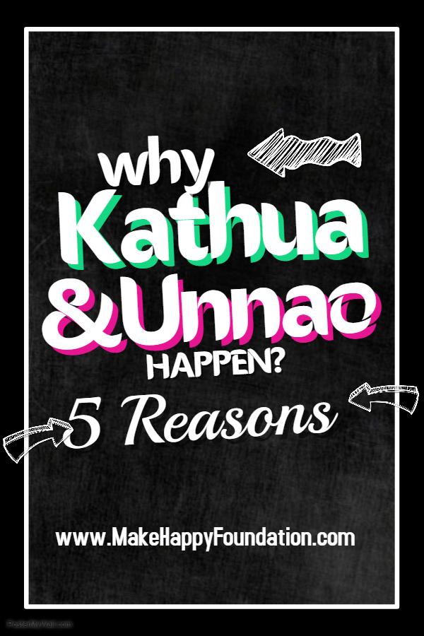 Kathua & Unnao! How can people so barbaric, violent and full of hatred?  5 primary reasons