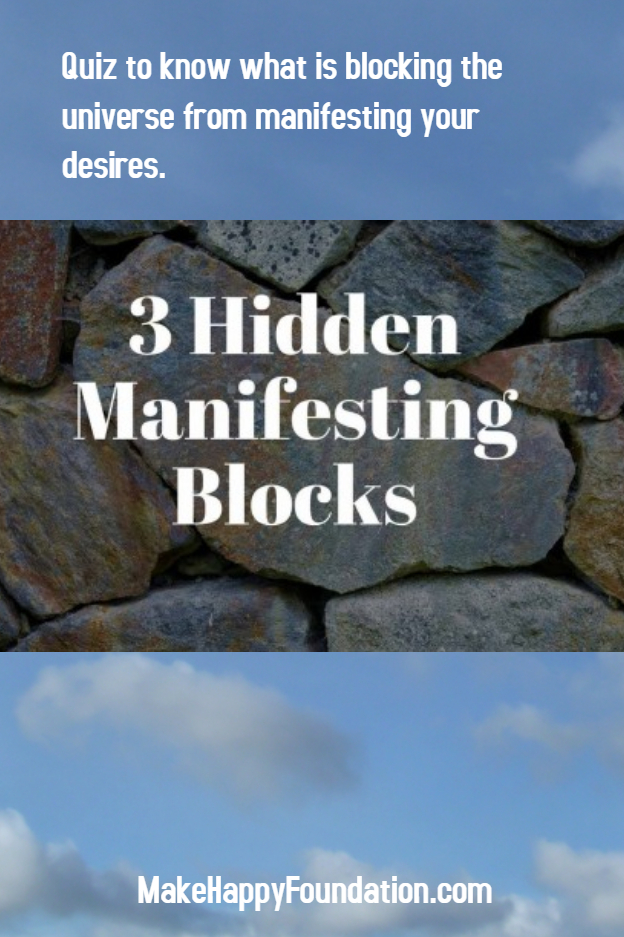 Manifestation Block Quiz, know what blocks universe from conspiring !