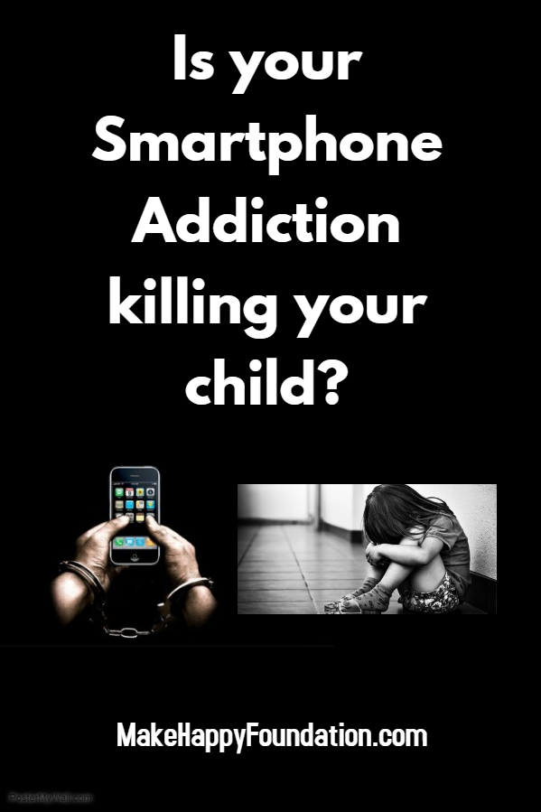 Are you a smartphone Addict? See what happens to your child!