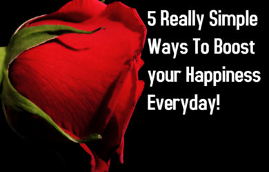 5 Simple Happiness Hacks - Made with PosterMyWall