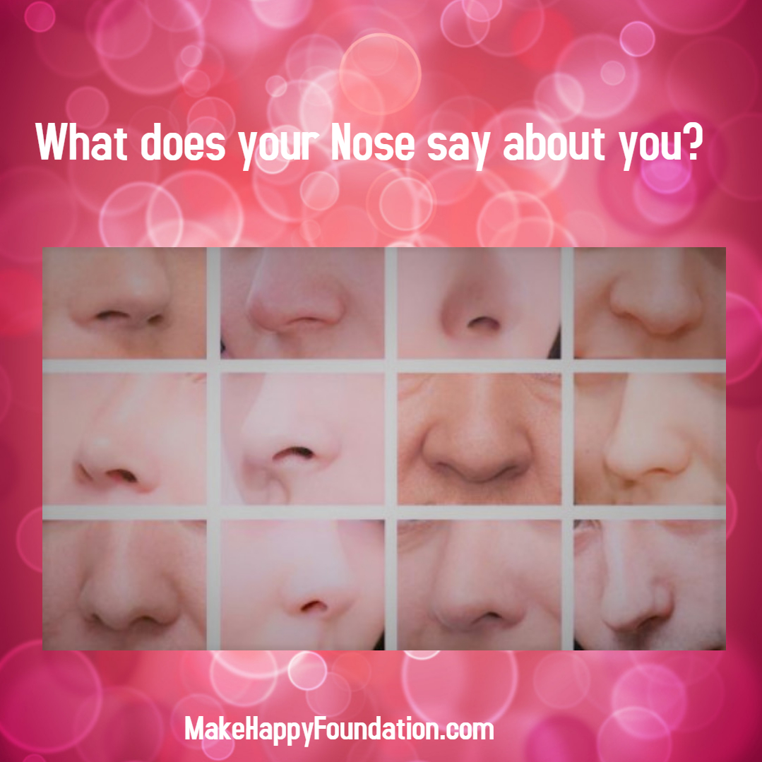 What does your Nose Shape say about you? Find out!