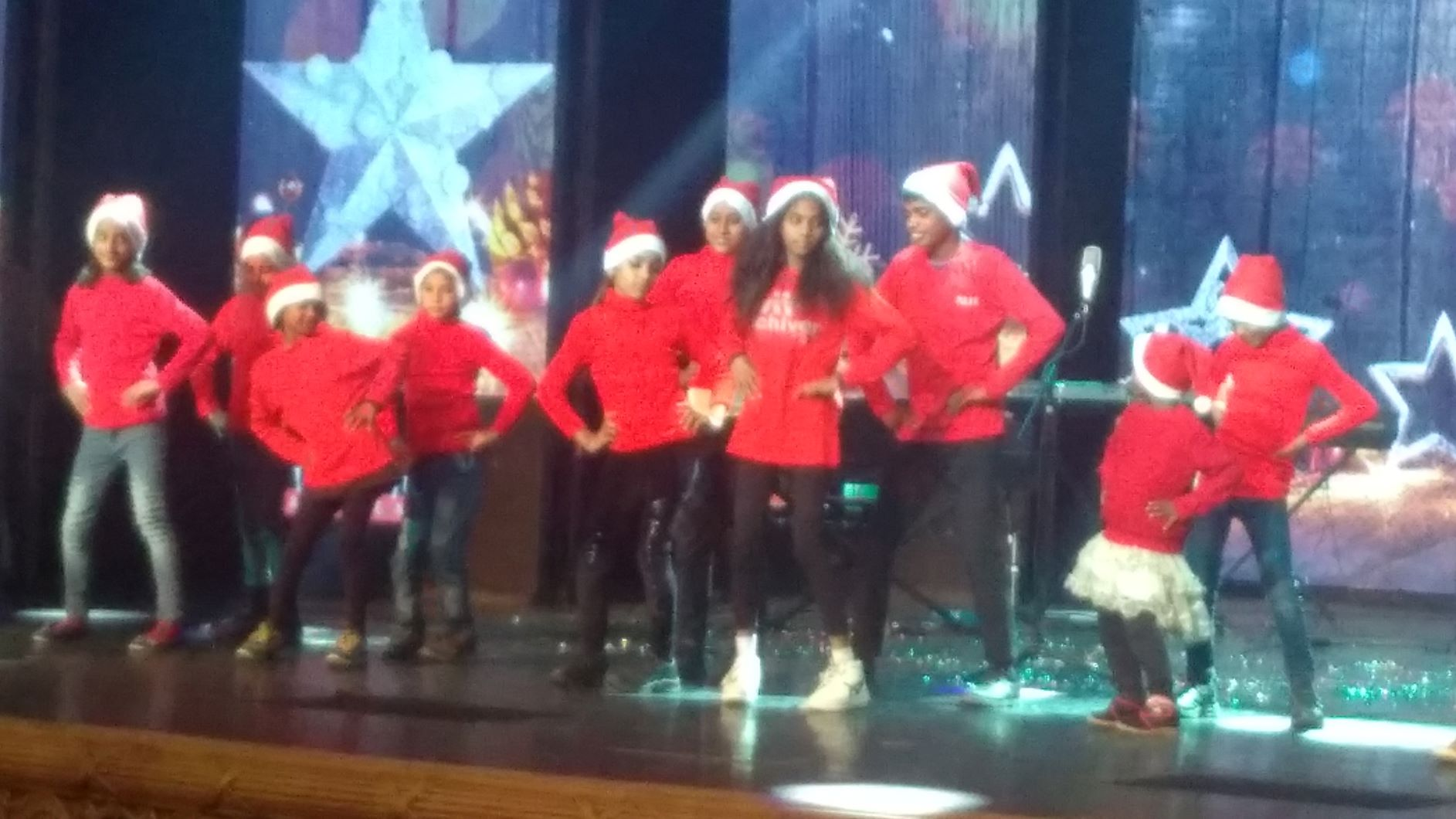 The Spirit of Christmas , Giving and sharing …. Street School Kids performing at Kingdom of Dreams