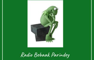 My Morning Story Philospher Frog Radio Bebaak Parindey - Made with PosterMyWall