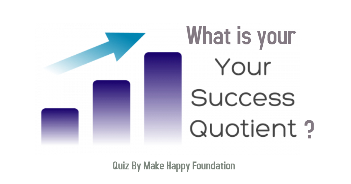What is your success quotient ? take this simple quiz.