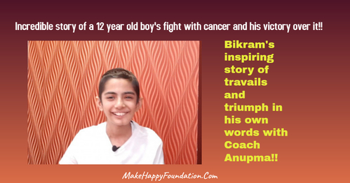 Cancer Miracle, Bikram's amazing fight and victory with jaw cancer!
